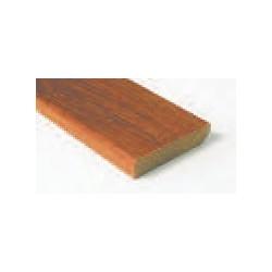 Hardhouten plint 12x45 mm