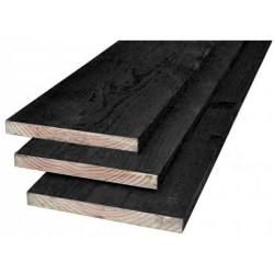 douglas plank 2x zwart gesp