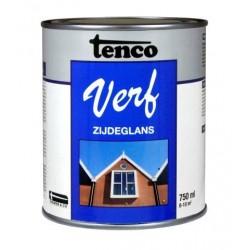 Tenco verf zijdeglans zwart